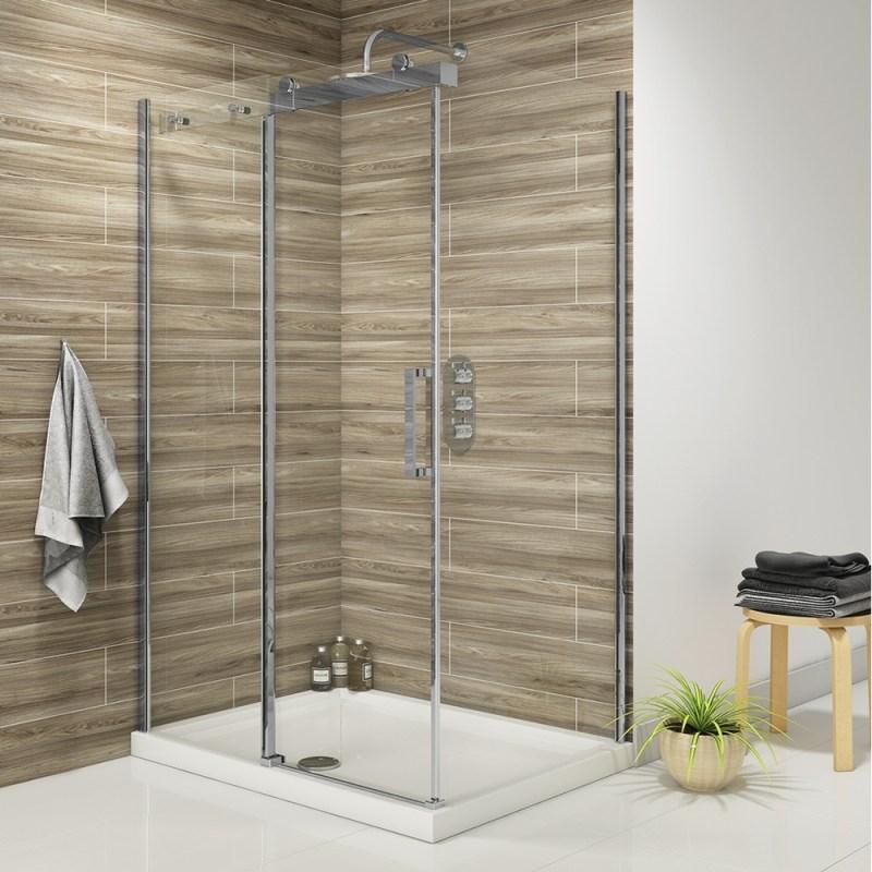 Synergy Vodas 8 Frameless 1000mm Sliding Shower Door
