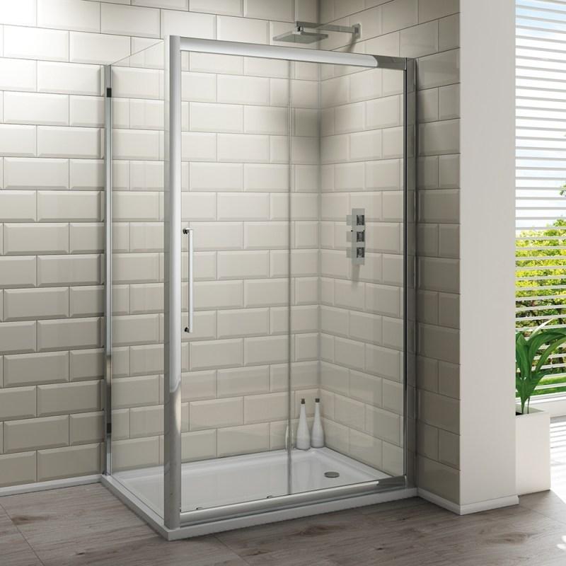 Synergy Vodas 8 Framed 1100mm Sliding Shower Door