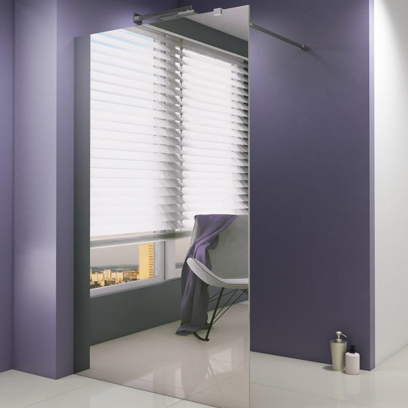 Synergy Vodas 8 900mm Mirror Wetroom Panel
