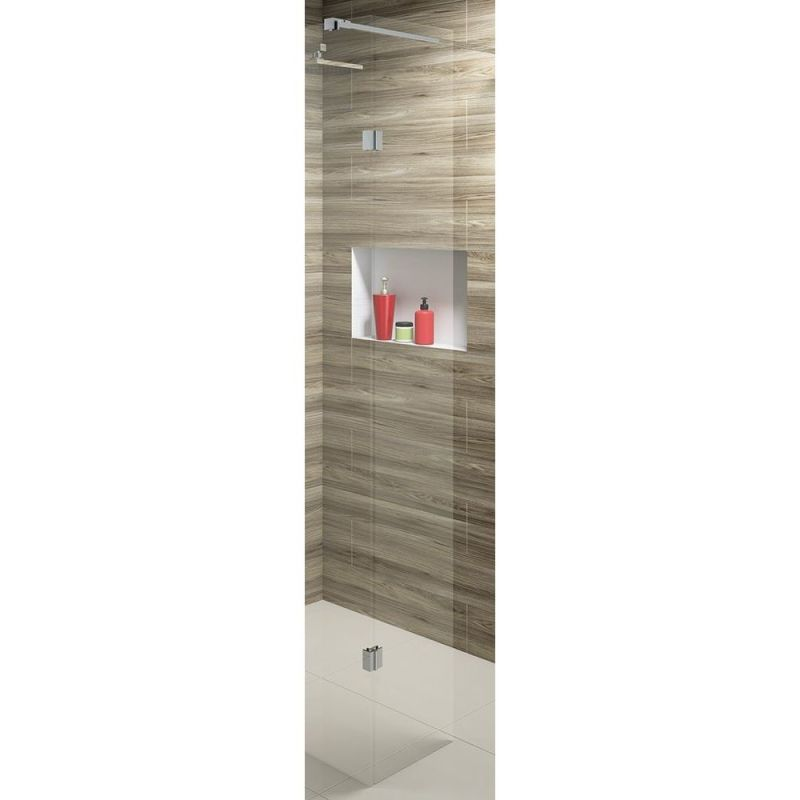 Synergy Vodas 10 250 x 2000mm Clear Wetroom Side Panel