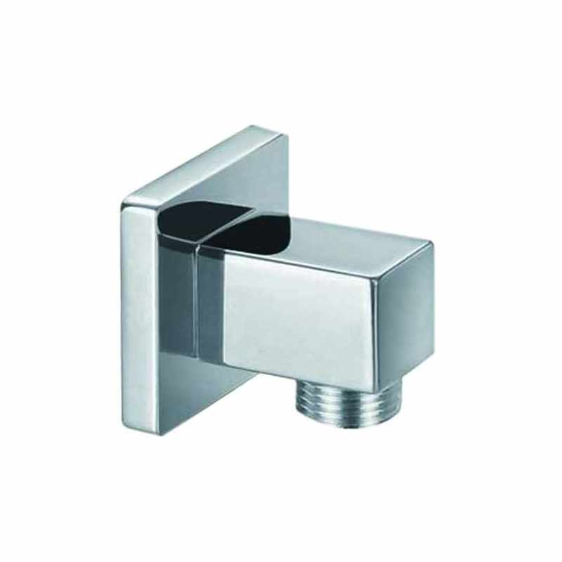 Synergy Square Chrome Outlet Elbow
