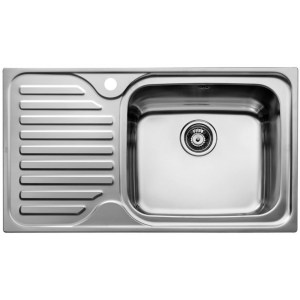 Teka Classic 1B 1D 86(45) Inset Sink Stainless Steel