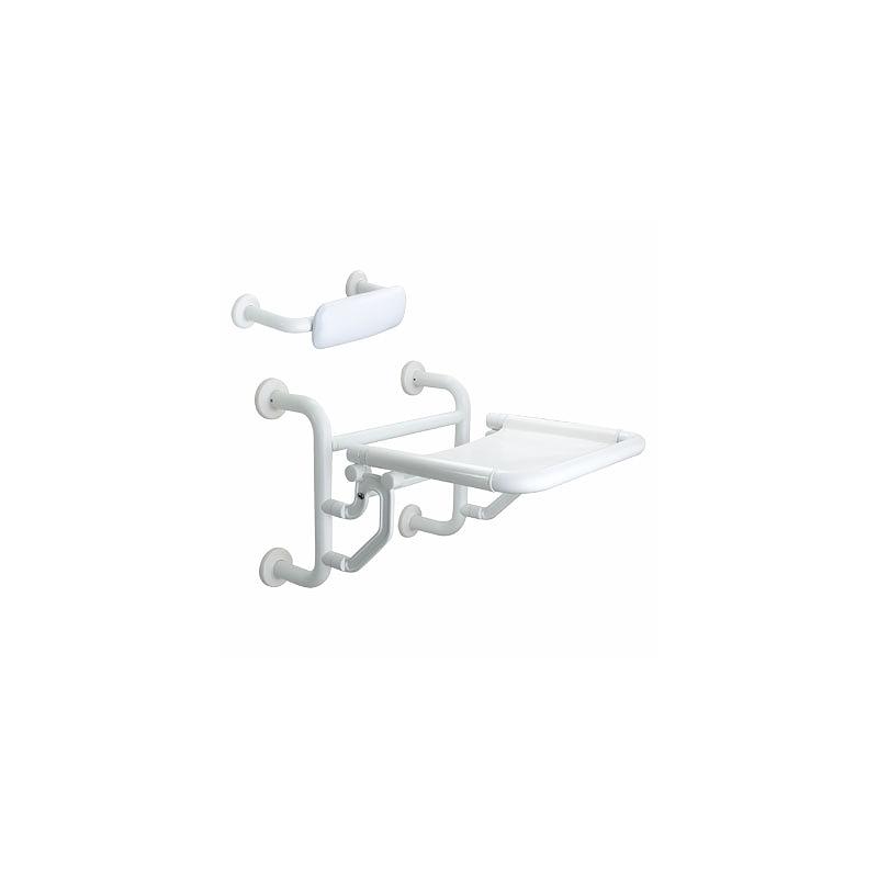 Twyford Avalon Folding Shower Seat Doc.M Compliant White