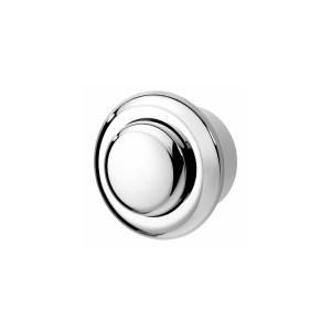 Twyford Air Button Single Flush Small Button Chrome