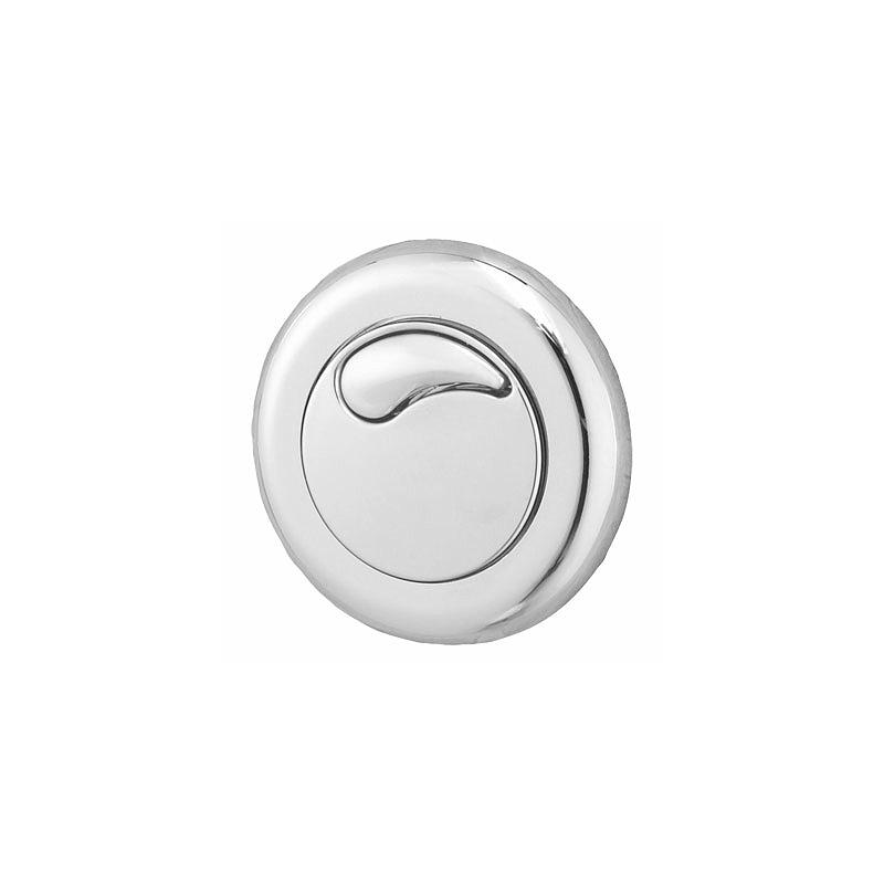 Twyford Air Button Dual Flush Small Button Chrome