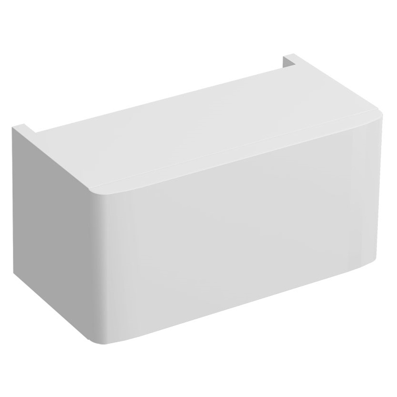 Twyford E100 Plinth for 450mm Cabinet White