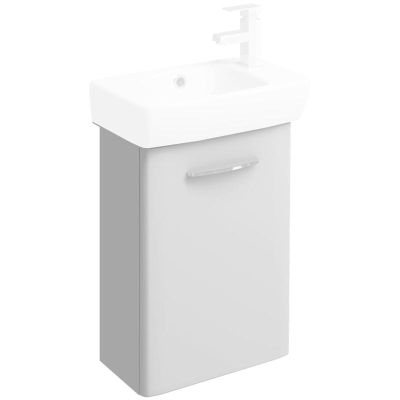 Twyford E100 450mm Vanity Unit Only White