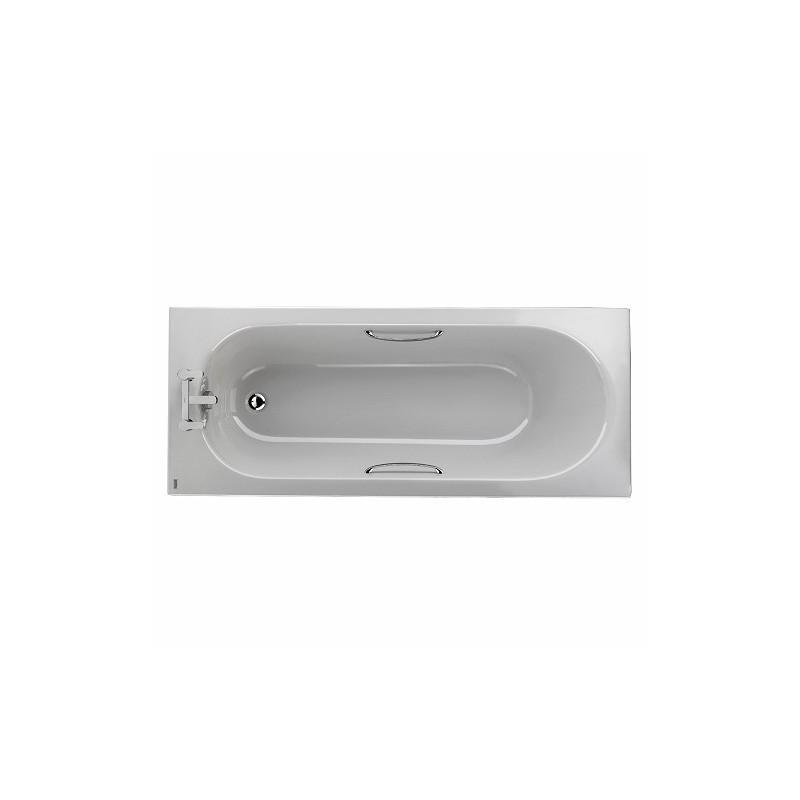 Twyford Opal Bath 1700x700 2 Tap with Grips 130L