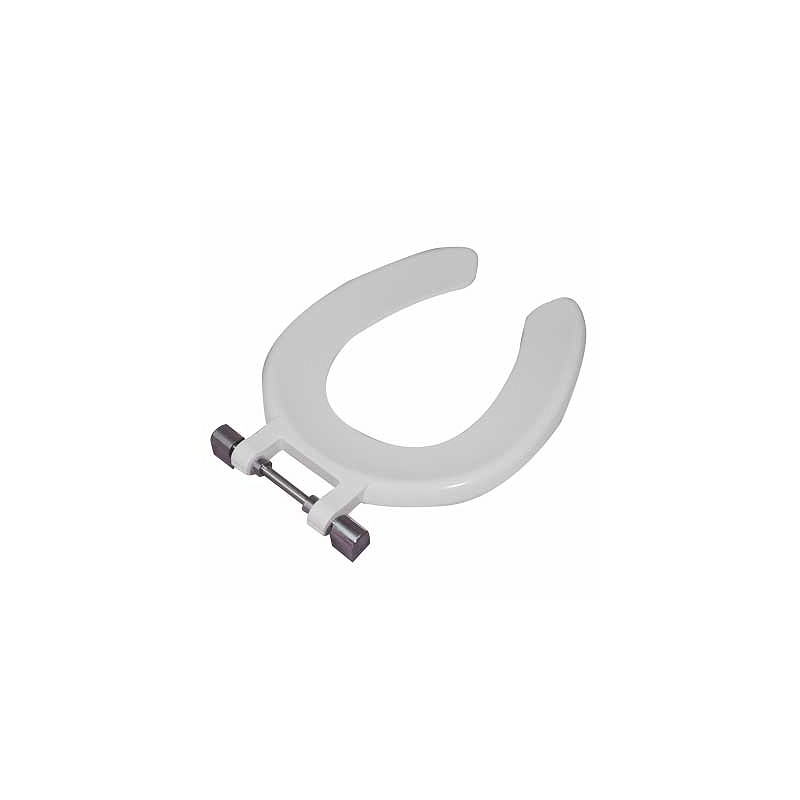 Twyford Open Front Seat Ring for Sola School 300 Pan White