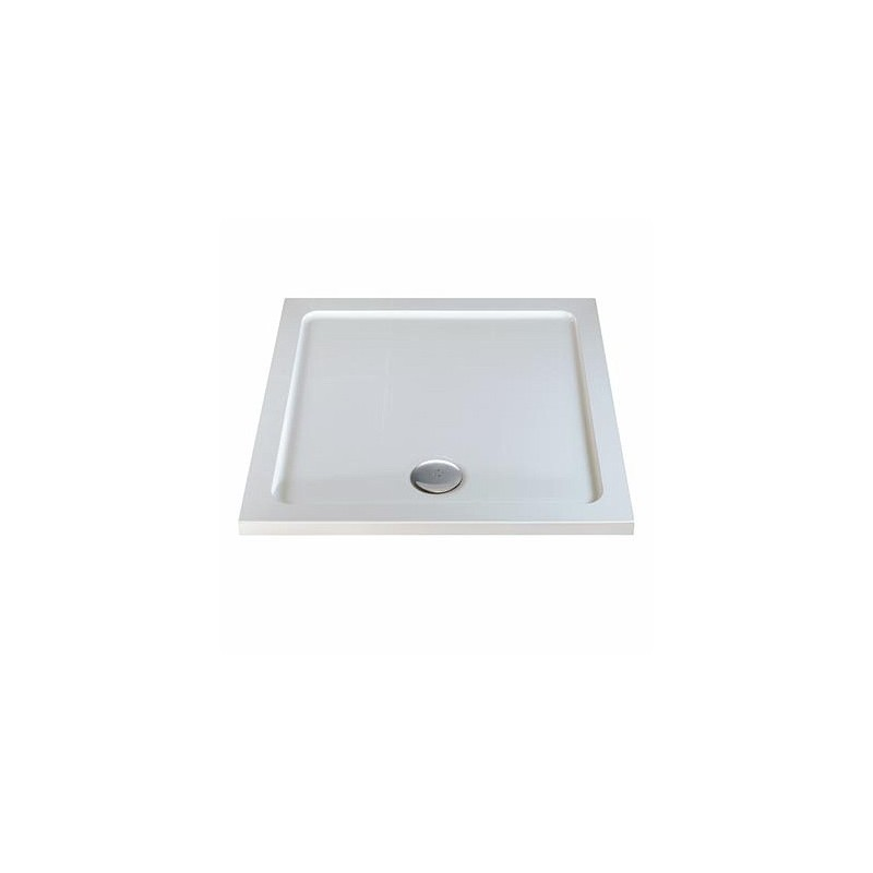 Twyford Shower Tray 1000 Square Flat Top