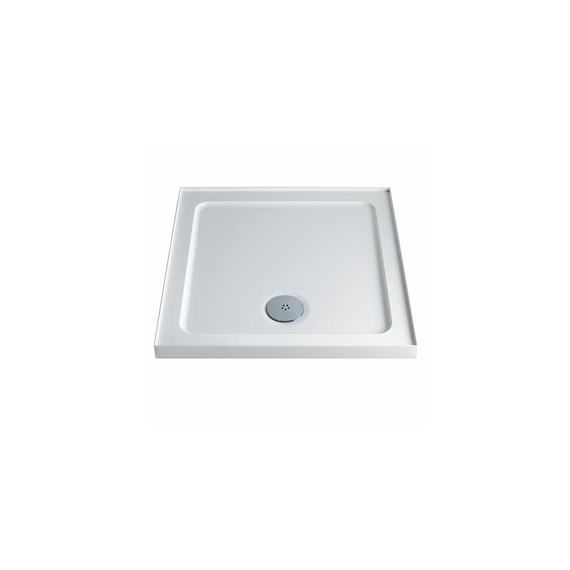 Twyford Shower Tray 800x800 Square Upstand