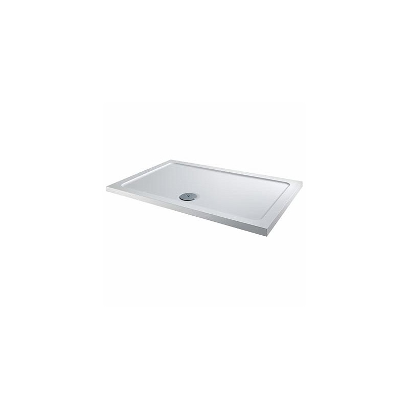 Twyford Shower Tray 1000x800 Rectangle Flat Top