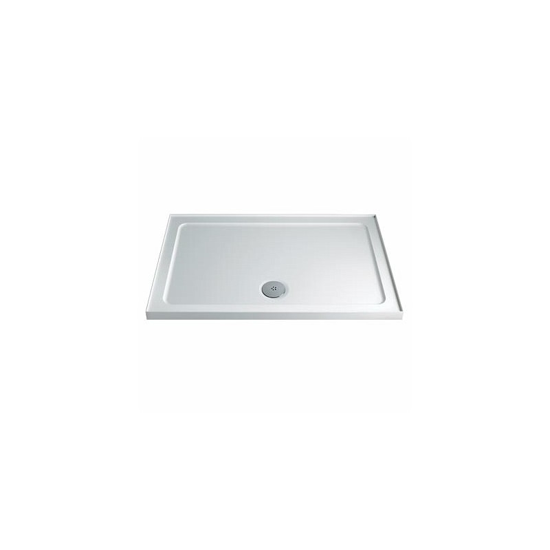 Twyford Shower Tray 1000x800 Rectangle Upstand