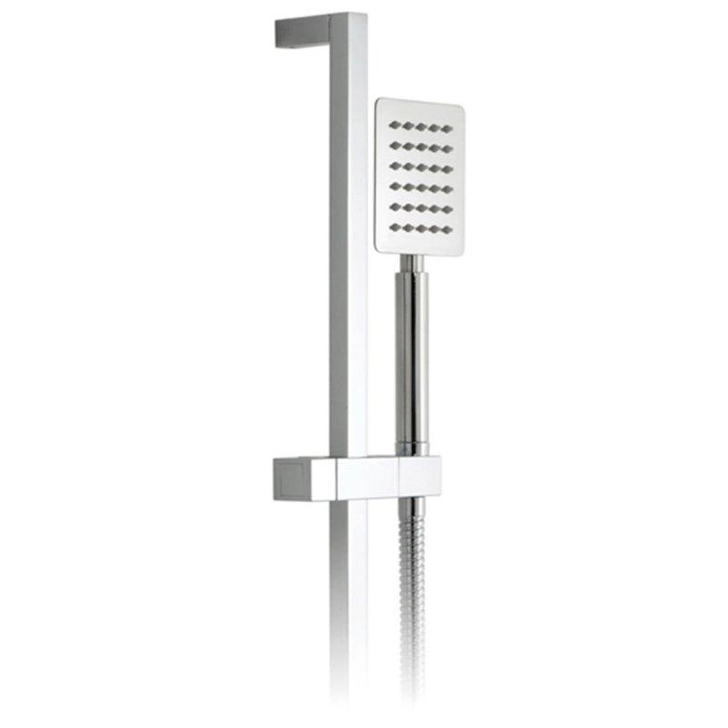 Vado Aquablade Square Single Function Slide Rail Shower Kit