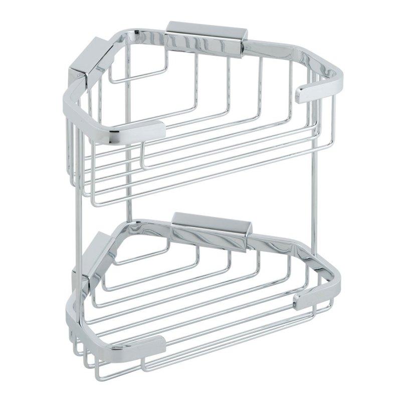 Vado Large Double Triangular Corner Basket