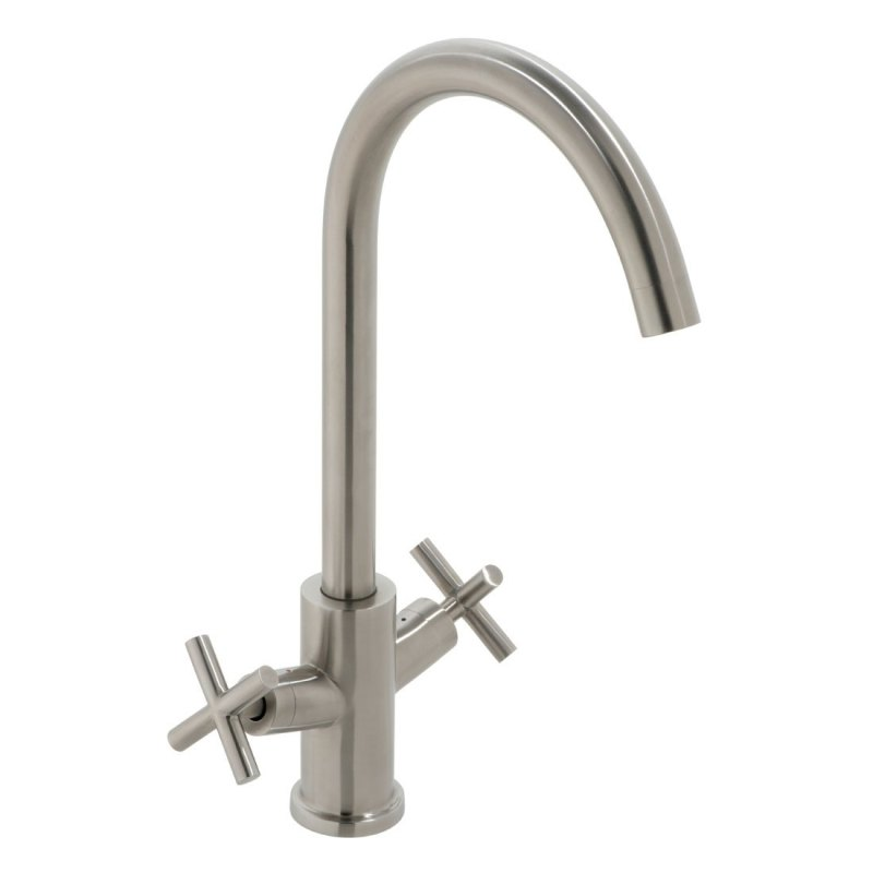 Vado Elements Mono Sink Mixer Stainless Steel
