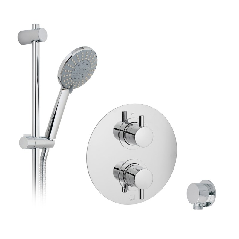 Vado Celsius 1 Outlet Thermostatic Shower Set