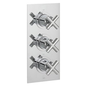 Vado Elements 2 Outlet 3 Handle Thermostatic Valve