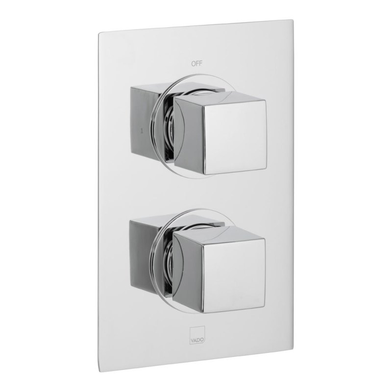 Vado Mix 1 Outlet, 2 Handle Thermostatic Shower Valve