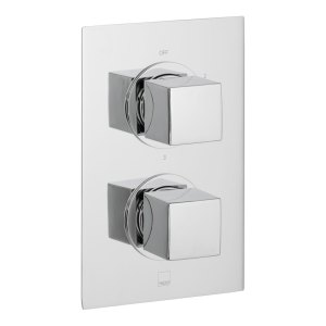 Vado Mix 3 Outlet, 2 Handle Thermostatic Shower Valve