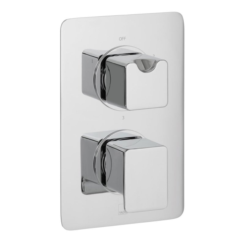 Vado Phase 3 Outlet 2 Handle Thermostatic Valve