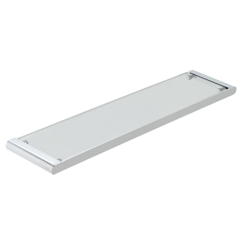 Vado Photon Clear Glass Shelf 573mm