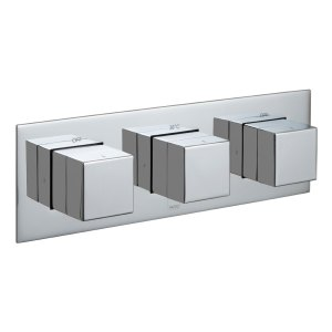 Vado Notion 2 Outlet 3 Handle Thermostatic Valve