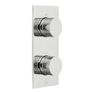 Vado Omika 1 Outlet, 2 Handle Thermostatic Shower Valve