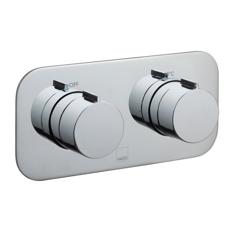 Vado Altitude 2 Outlet, 2 Handle Thermostatic Valve with All-Flo