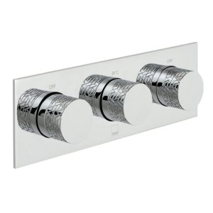 Vado Omika 2 Outlet 2 Handle Thermostatic Valve with All-Flow