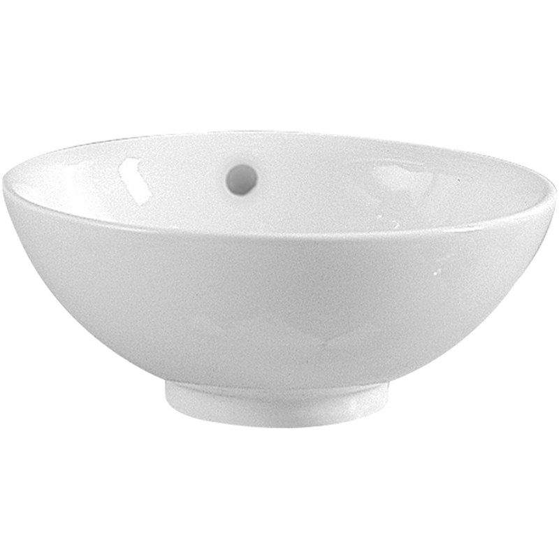 Vitra Option Countertop Basin 42cm No Taphole with Overflow
