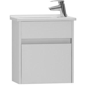 Vitra S50 45cm Compact Washbasin Unit & 5345 Basin Gloss White