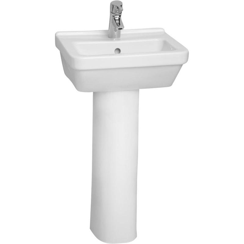 Vitra S50 Basin 45cm Square 1 Taphole White