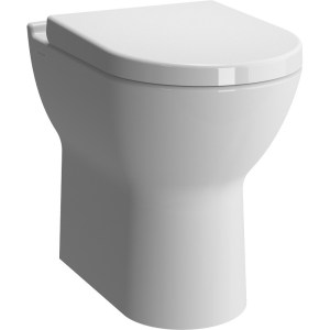Vitra S50 Comfort Height Back To Wall Pan