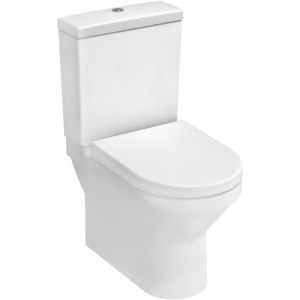 Vitra S50 Compact Close Coupled Back To Wall Toilet with Soft Close Seat
