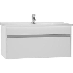 Vitra S50 100cm Washbasin Unit with Basin Gloss White