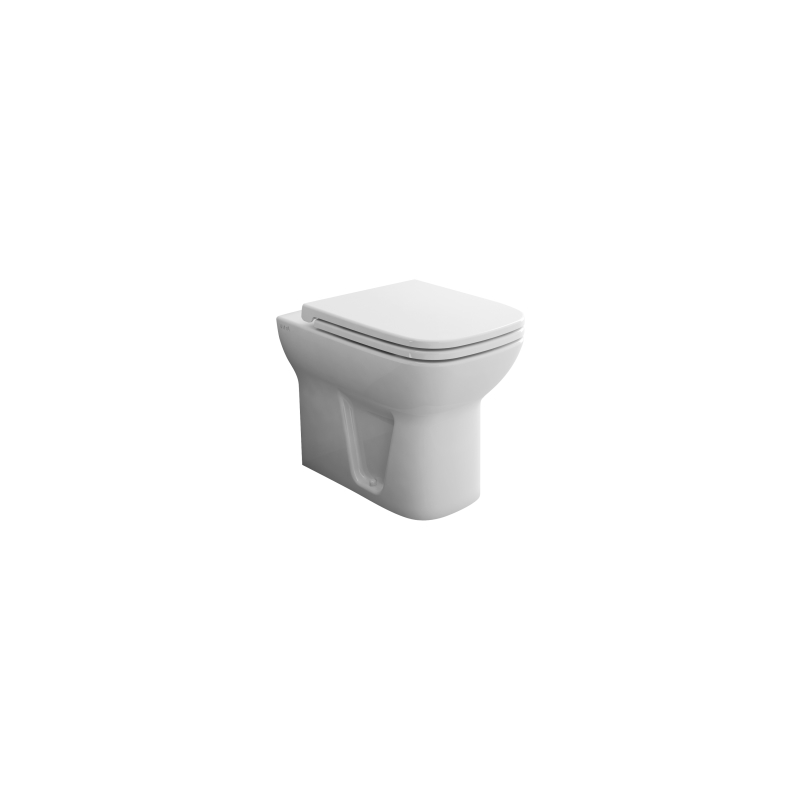 Vitra S20 Back To Wall WC Pan White