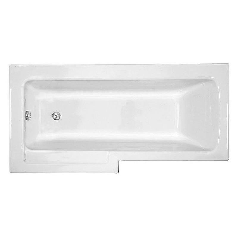 Vitra Neon Bath 170x75cm Left Hand White