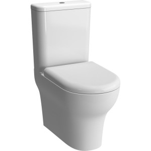 Vitra Zentrum Close Coupled Back To Wall Toilet with Soft Close Toilet Seat
