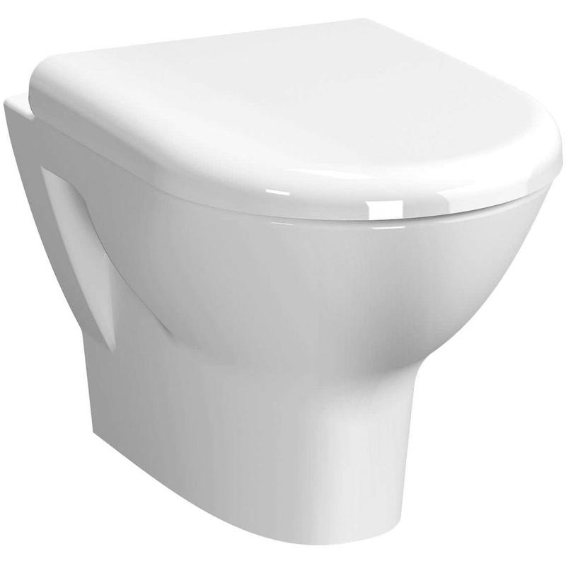 Vitra Zentrum Rim-Ex Wall-Hung WC Pan