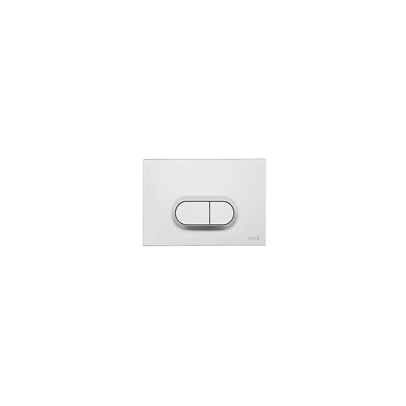 Vitra Loop O Control Panel WC Flush Plate Matt Chrome
