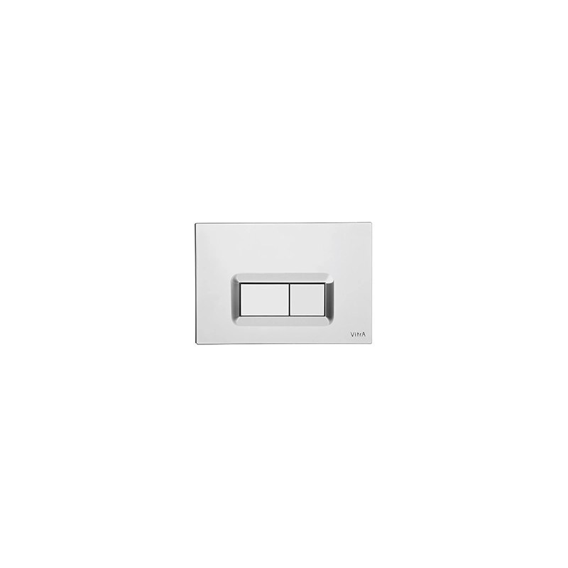Vitra Loop R Control Panel WC Flush Plate Chrome Plated