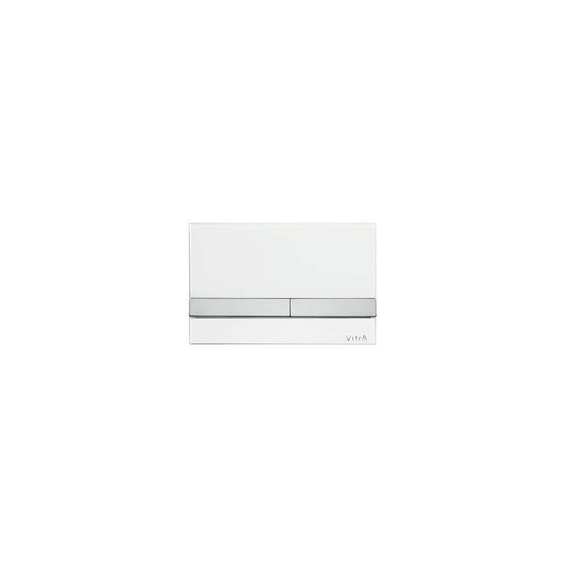 Vitra Select Mechanical Control Panel Glass White