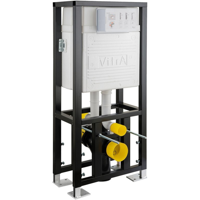 Vitra WC Frame & Double Concealed Cistern Floor 12cm 3/6 Litre