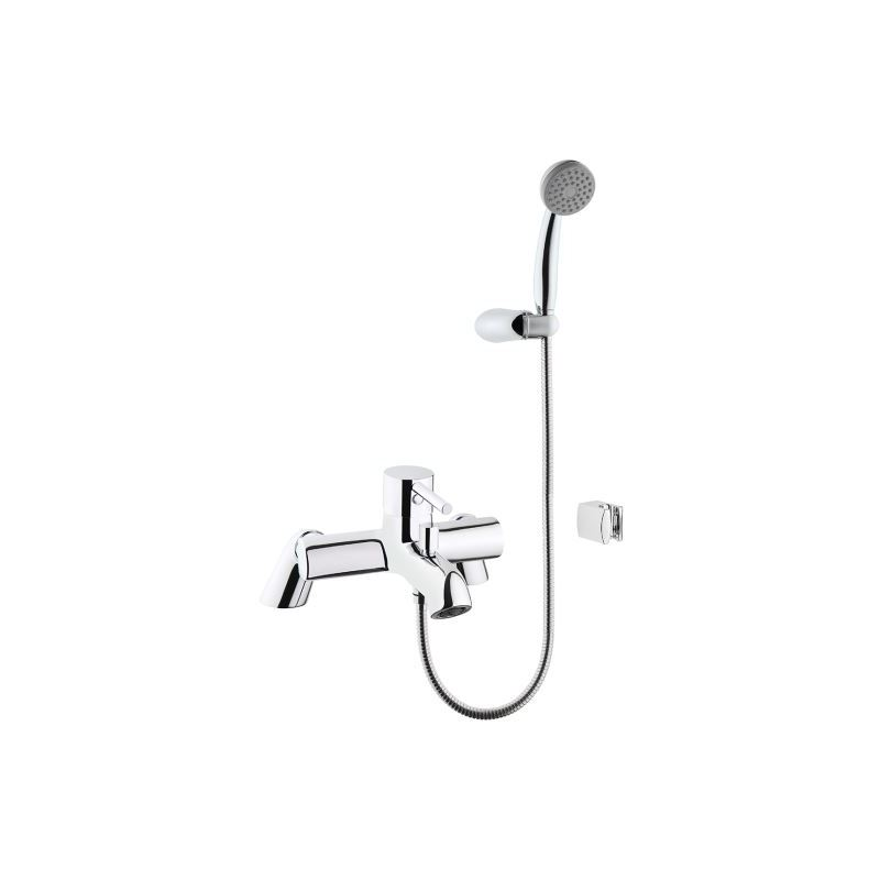 Vitra Minimax S Bath/Shower Mixer with Handshower Chrome