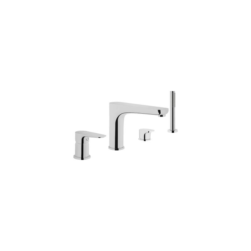 Vitra X-Line 4 Hole Bath Shower Mixer