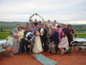 family shot group