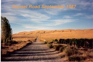 sunset road 87