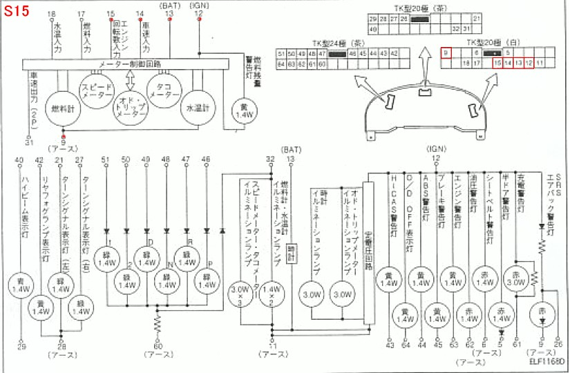 Nissan 200sx Headlight Wiring Diagram on Nissan Maxima Bose Radio Wiring Diagram