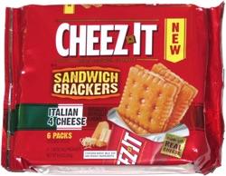 CheezIt Cracker Sandwiches Italian 4 Cheese